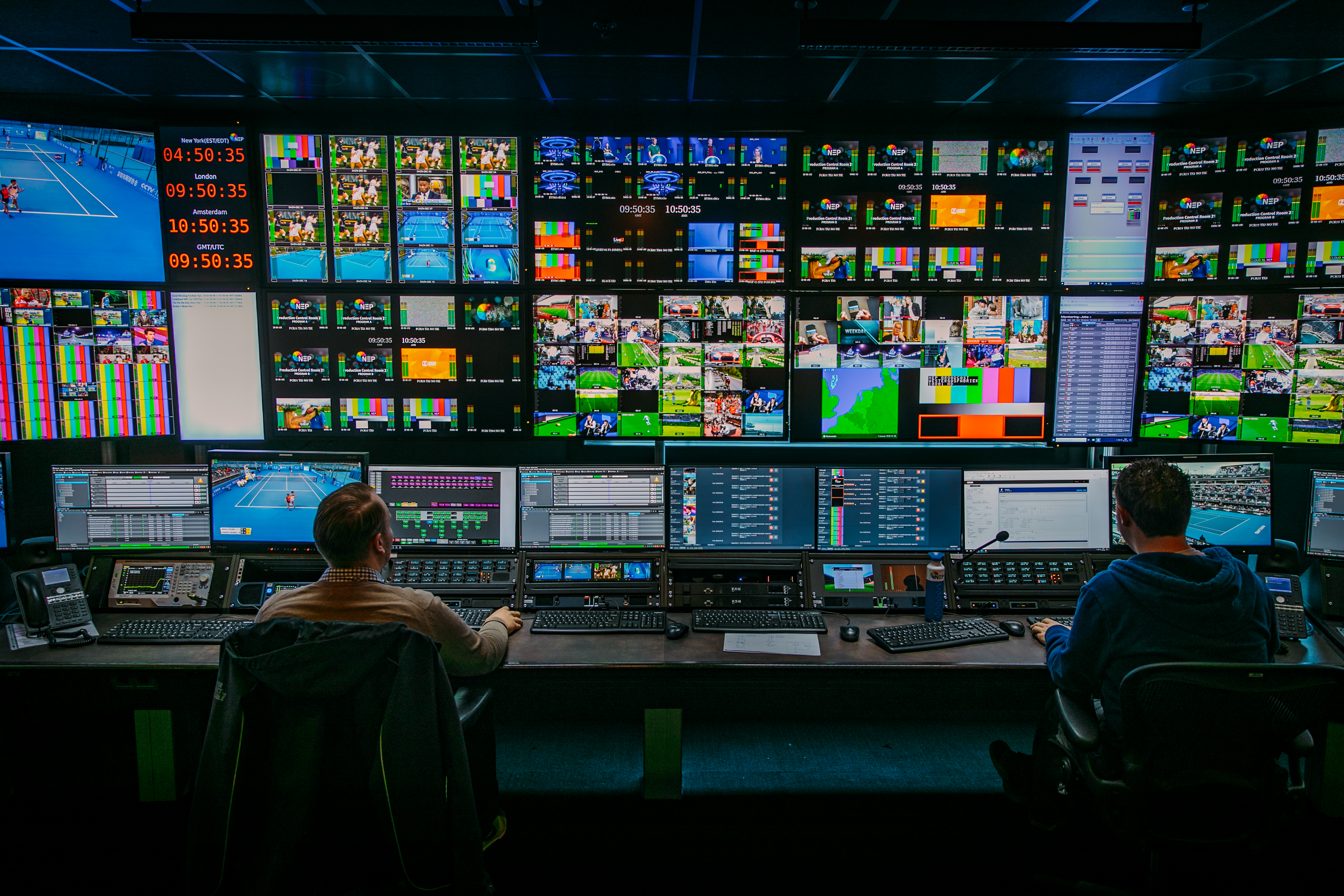 NEP partners with KevlinX to facilitate remote based sports productions